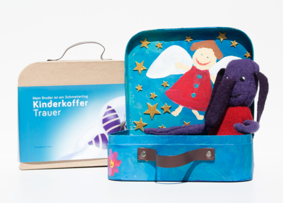 Kinderkoffer Trauer